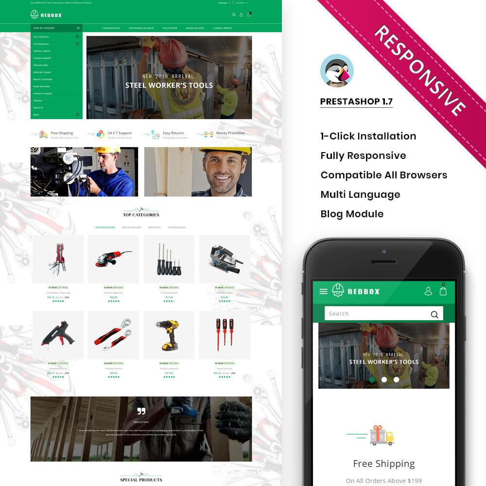 theme - Automotive & Cars - Redbox - The Tool Store - 1