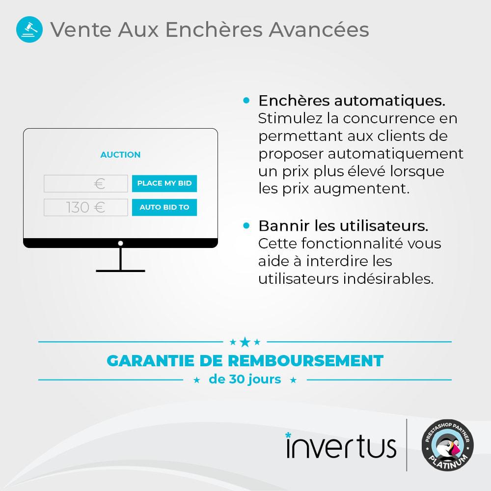 module - Site d'enchères - Enchères Avancées - 2