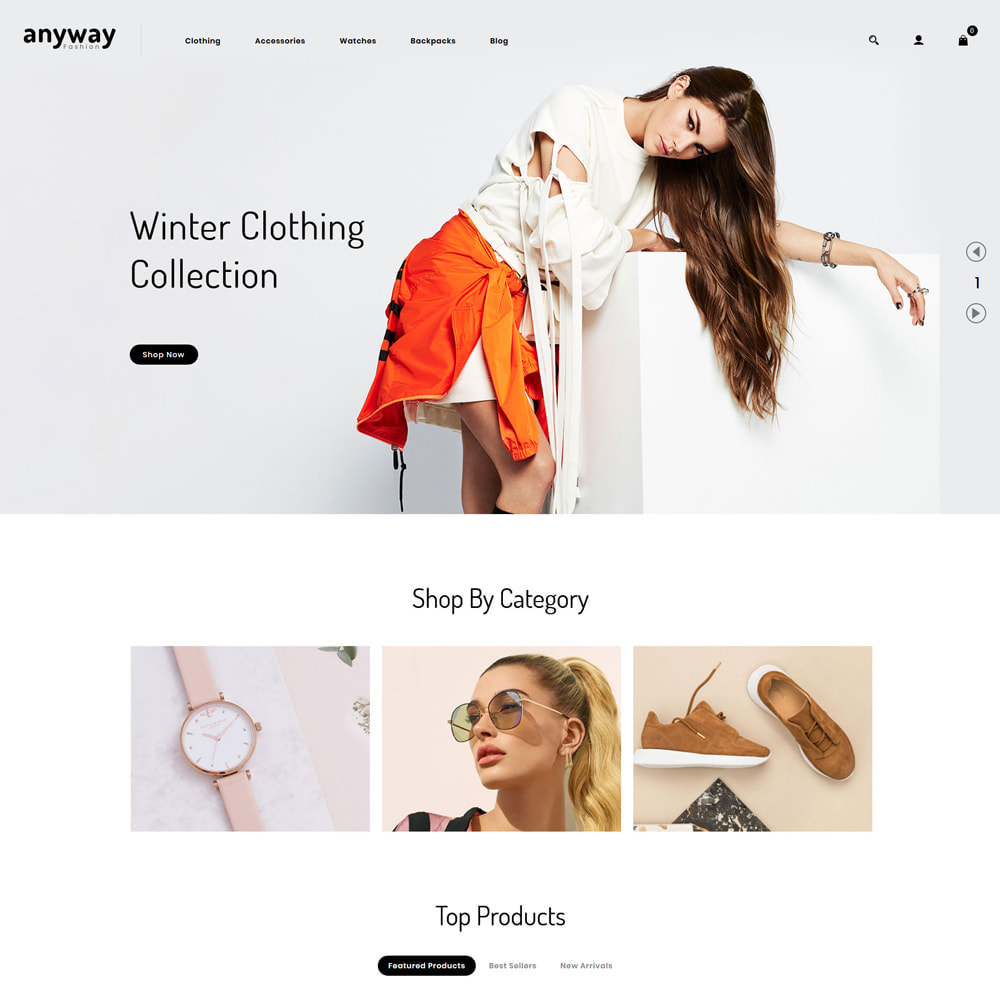 theme - Мода и обувь - Anyway Fashion Shop - 2