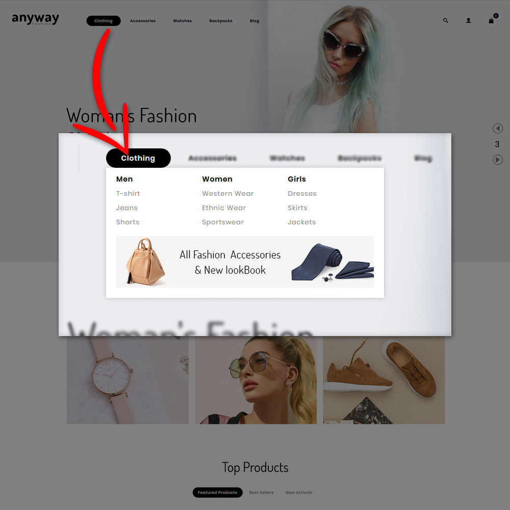 theme - Мода и обувь - Anyway Fashion Shop - 8