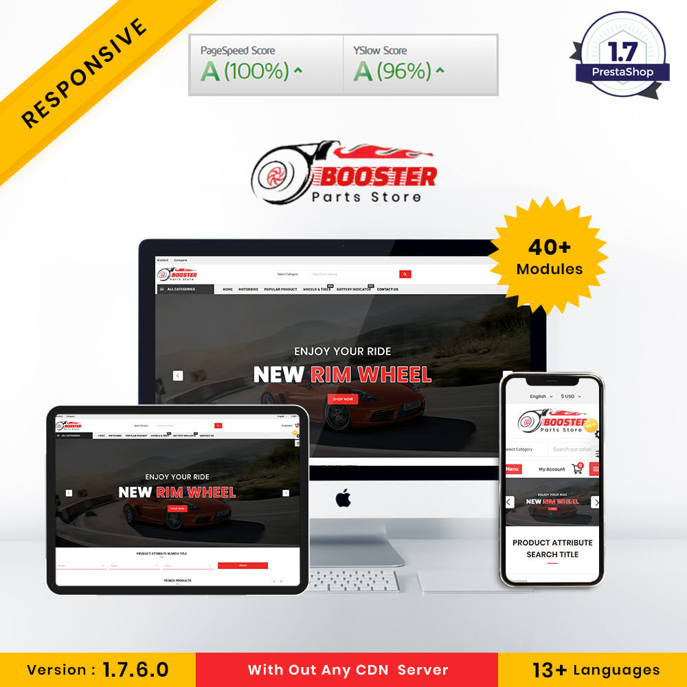 theme - Automotive & Cars - Booster Autopart Store - 1