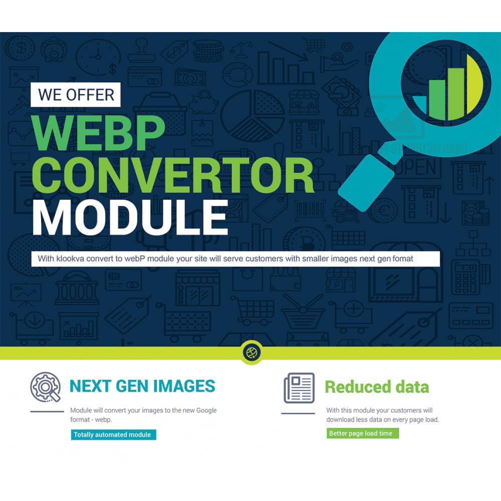 module - Website performantie - WEBP Compress and Convert to next gen images - 1