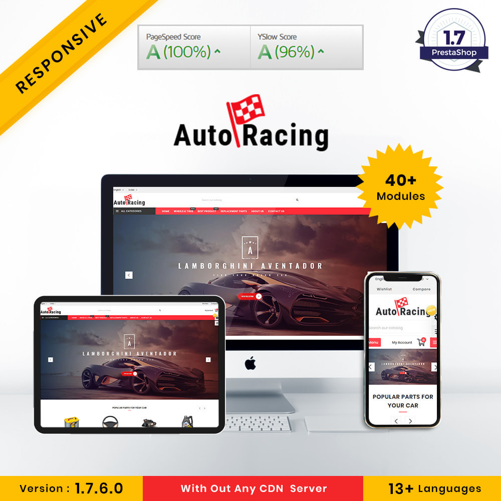 theme - Coches y Motos - Auto-Racing AutoPart Store - 1