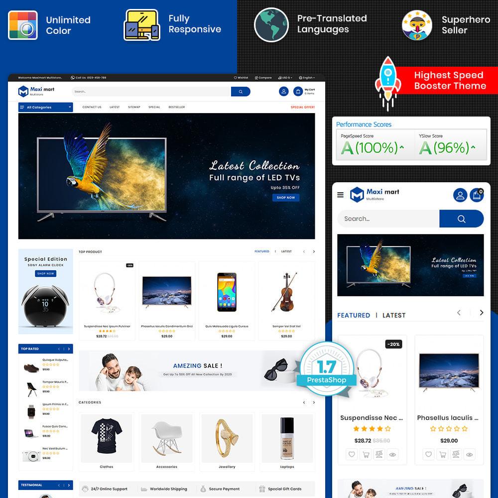 theme - Electronique & High Tech - Maximart - Best Super Market Electronics - 1