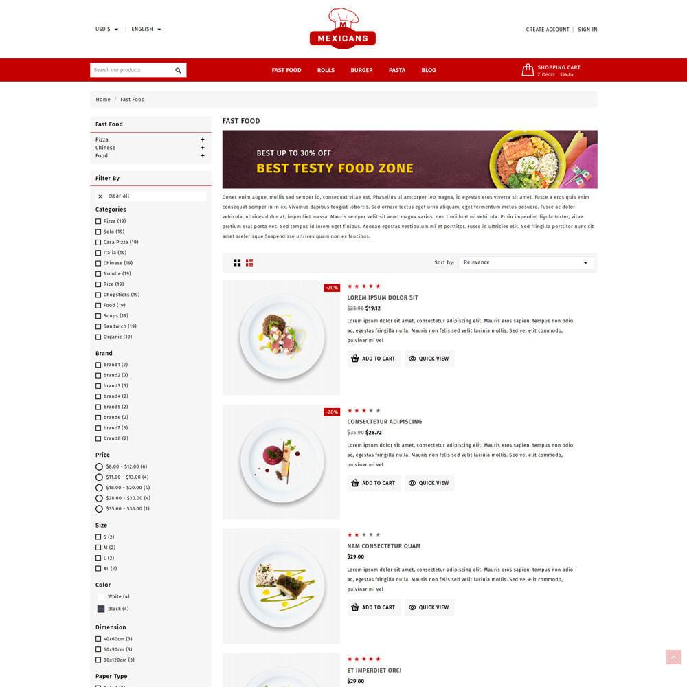 theme - Cibo & Ristorazione - Maxicans Food & Restaurant Shop - 4