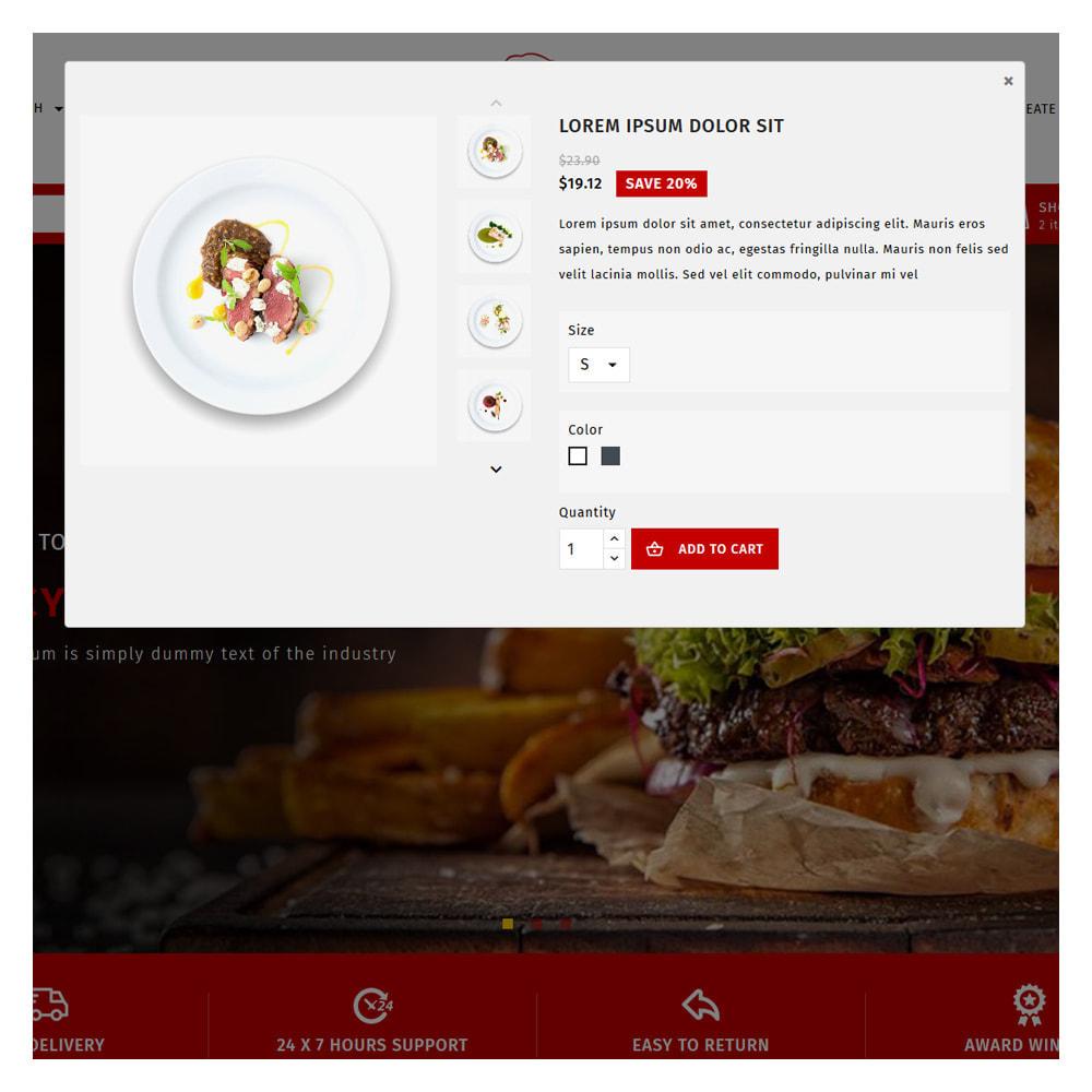 theme - Cibo & Ristorazione - Maxicans Food & Restaurant Shop - 9