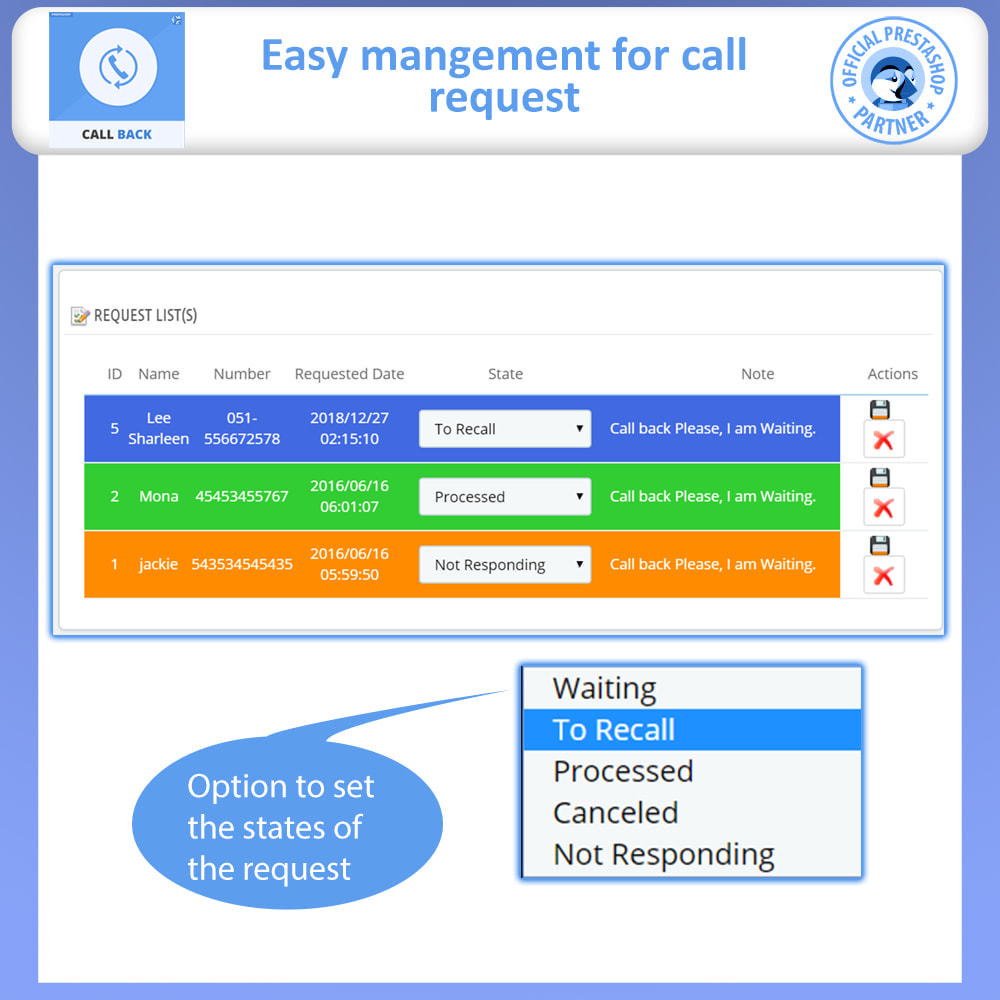 module - Support & Online Chat - Call Back - Fixed & Floating Call Back Form - 6