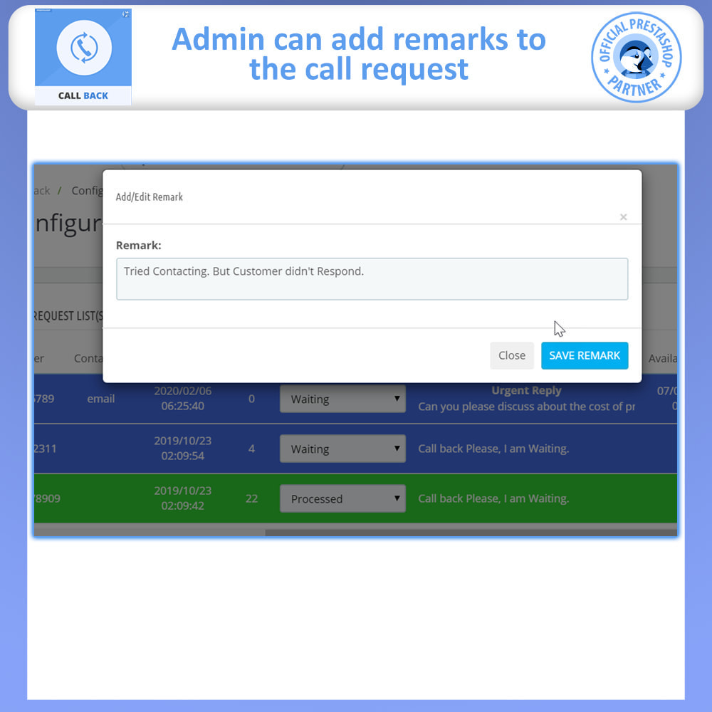 module - Support & Online Chat - Call Back - Fixed & Floating Call Back Form - 7