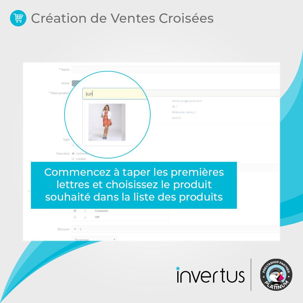 module - Ventes croisées & Packs de produits - Vente Incitative Intelligente - 8
