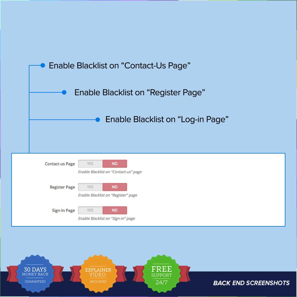 module - Security & Access - reCAPTCHA PRO - Semplice - Sicuro - 9
