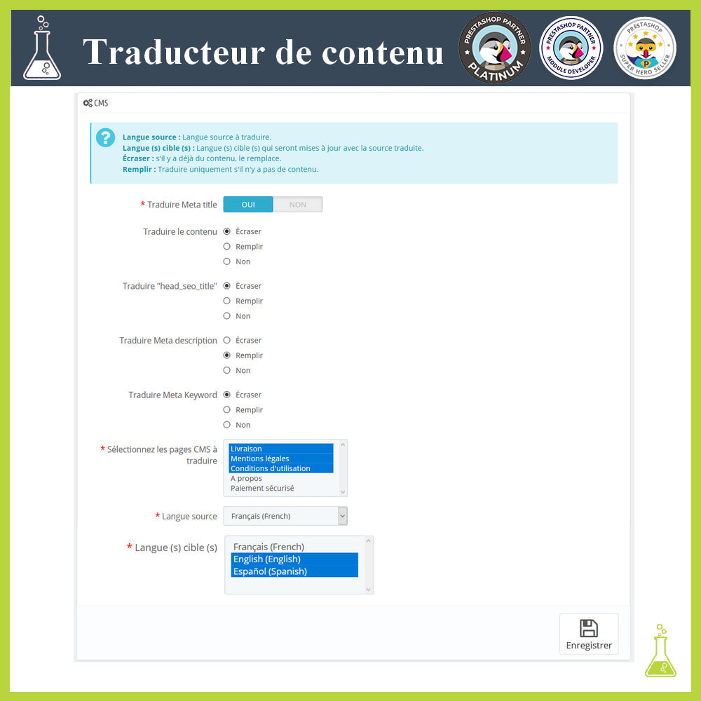 module - International & Localisation - Traducteur de contenu avancé - 6