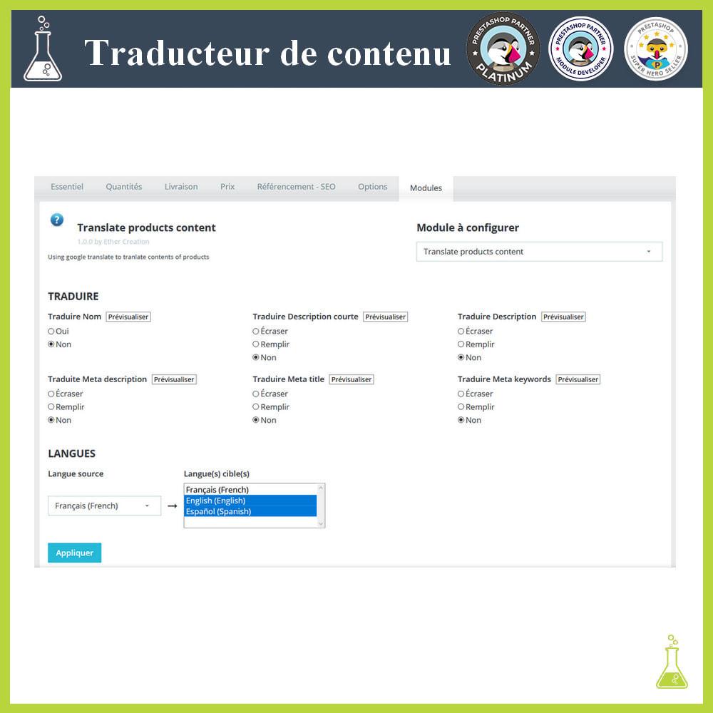 module - International & Localisation - Traducteur de contenu avancé - 11