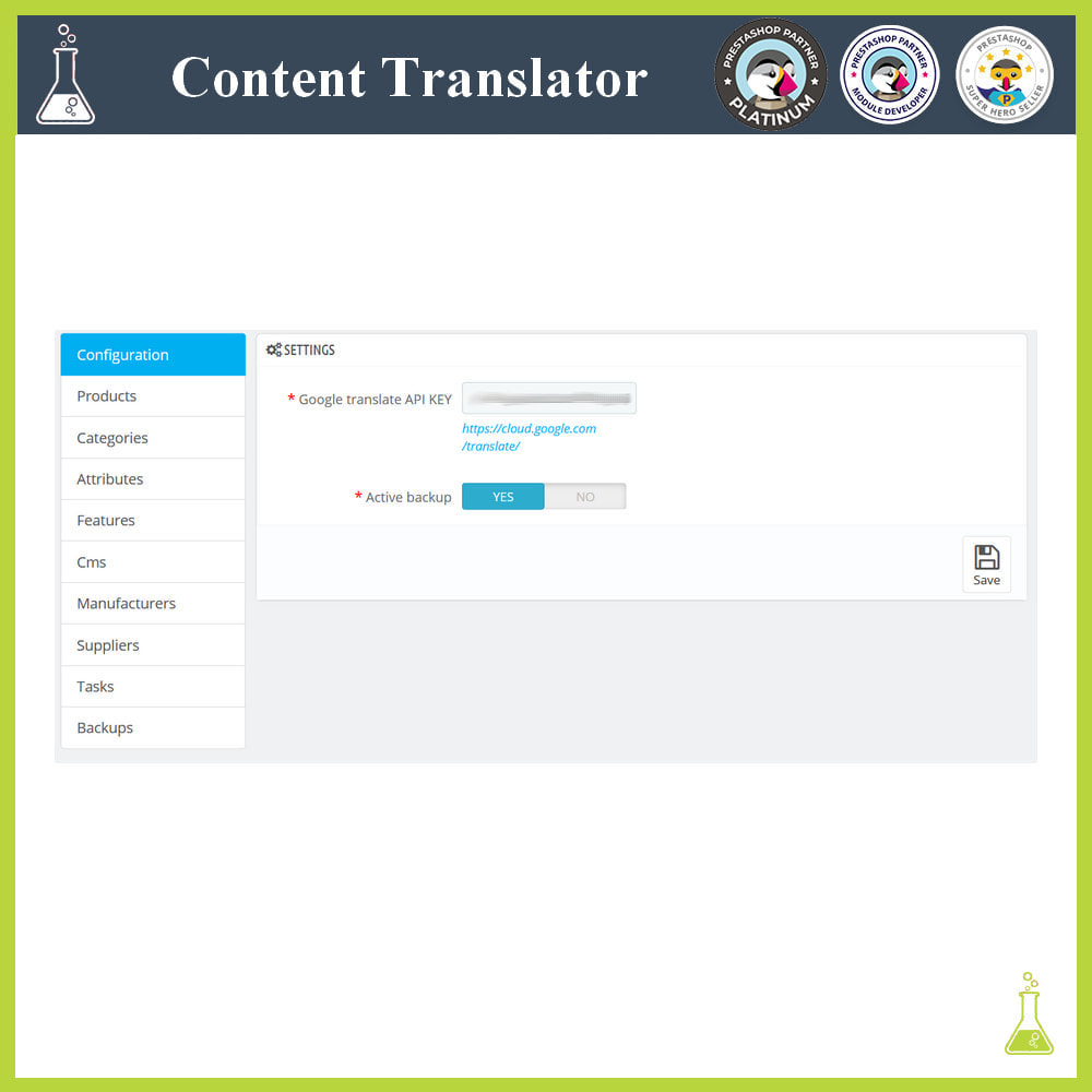 module - Internationalisierung & Lokalisierung - Advanced content translator - 1