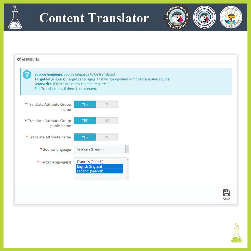 module - Internationalisierung & Lokalisierung - Advanced content translator - 4