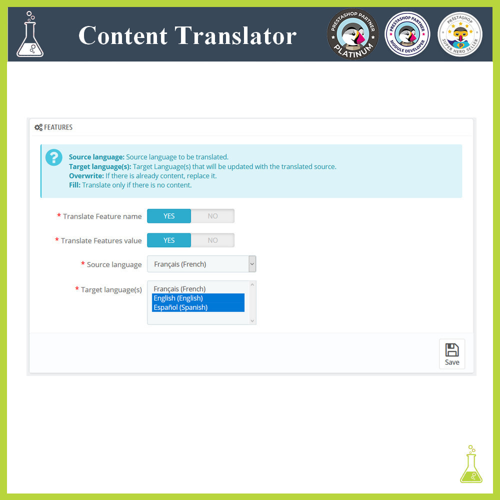module - Internationalisierung & Lokalisierung - Advanced content translator - 5