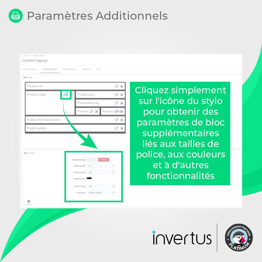 module - Information supplémentaire & Onglet produit - Produit au format PDF simple - 7