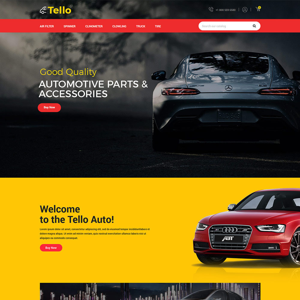 theme - Coches y Motos - Auto Moto - Tool Car Spare Wheel Store - 2