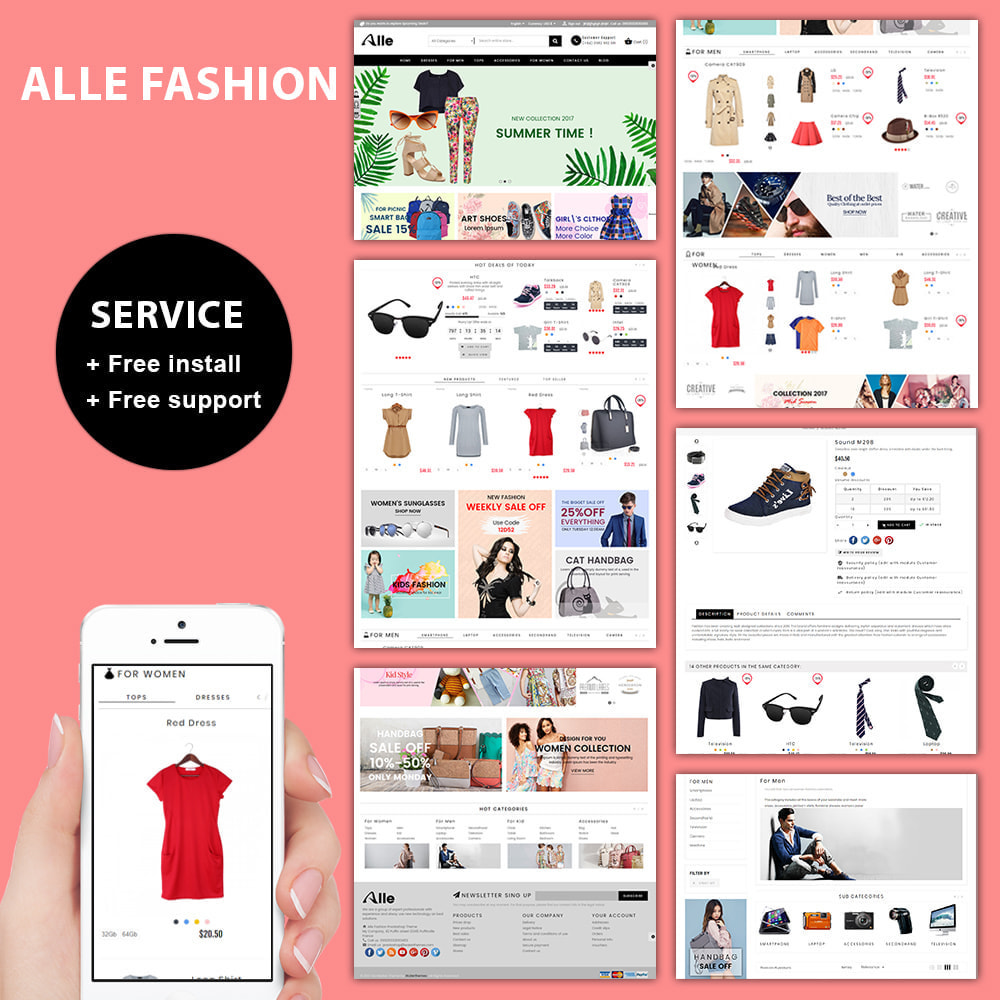 theme - Mode & Schuhe - The Alle Fashion Store - 1