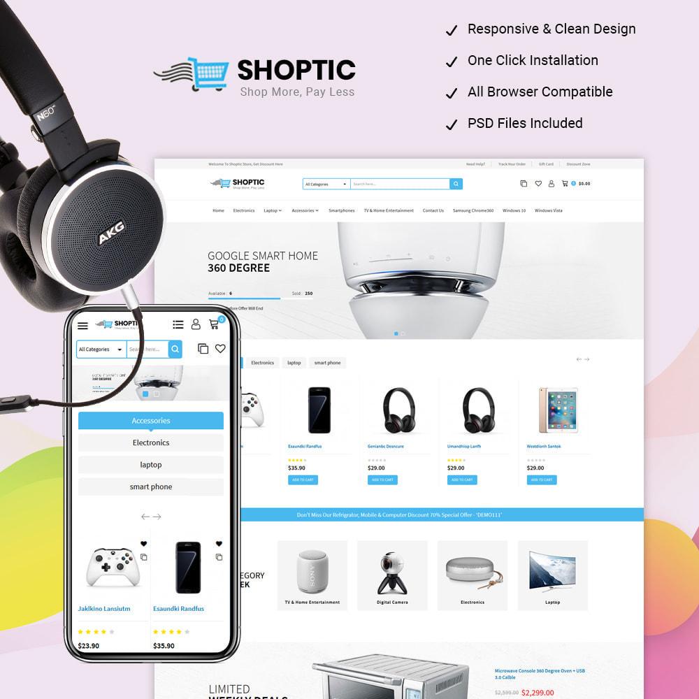 theme - Elektronika & High Tech - Shoptic - Electronic Store - 1