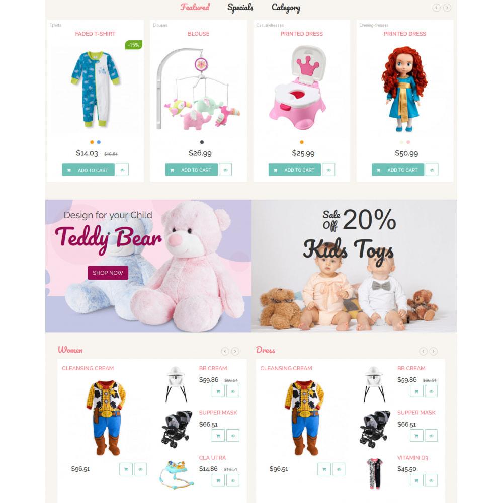 theme - Crianças & Brinquedos - Baby Childhood - 3