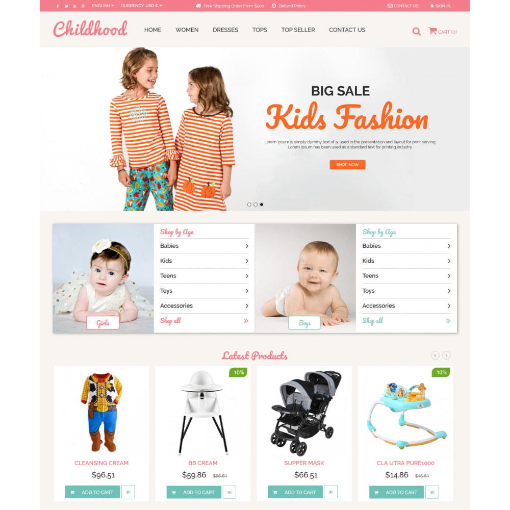 theme - Crianças & Brinquedos - Baby Childhood - 4