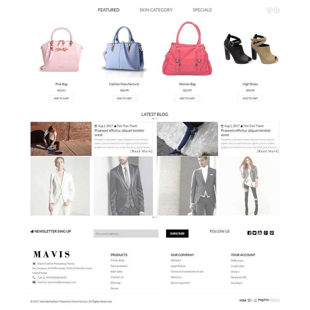 theme - Мода и обувь - Mavis Fashion Store - 2