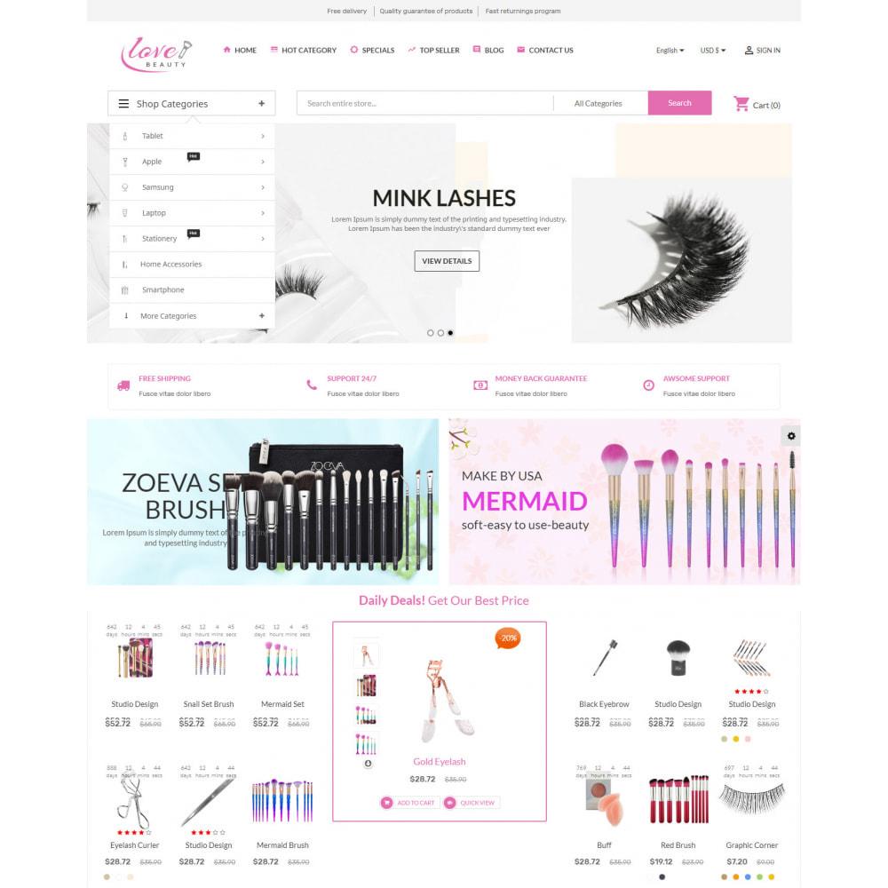 theme - Здоровье и красота - Beauty Cosmetic - 2