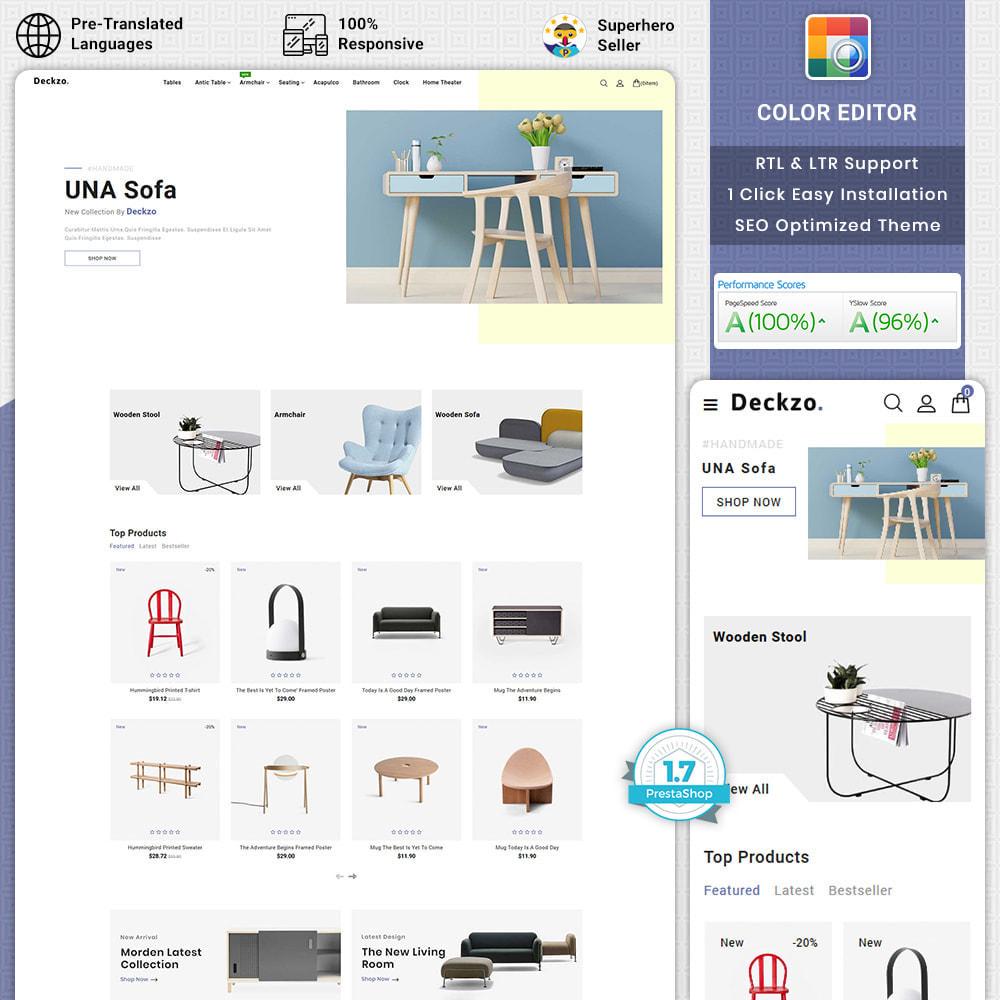 theme - Huis & Buitenleven - Deckzo - The Best Furniture Store - 1