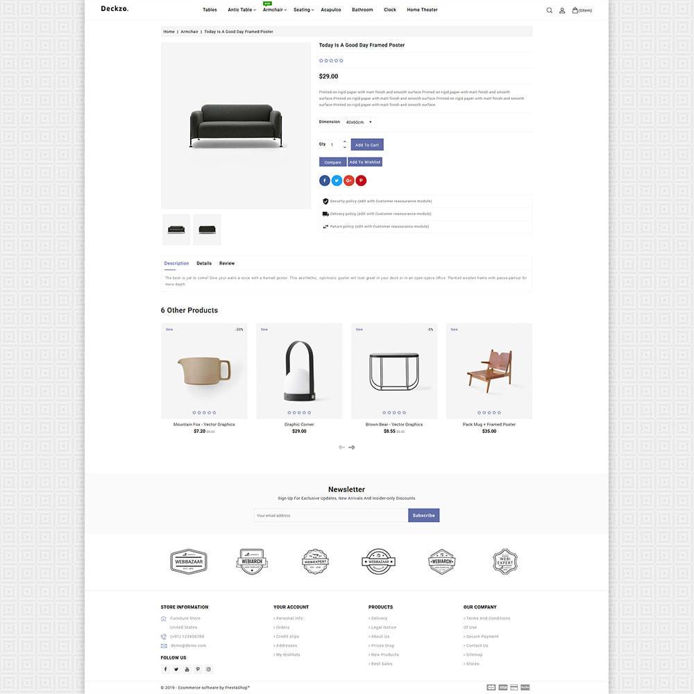 theme - Huis & Buitenleven - Deckzo - The Best Furniture Store - 6