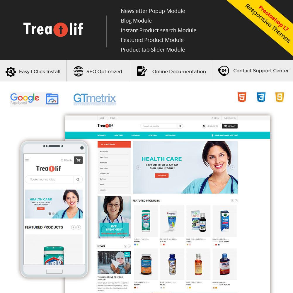 theme - Saúde & Beleza - Medical Drug  - Wellness Medicine Natural  Store - 1