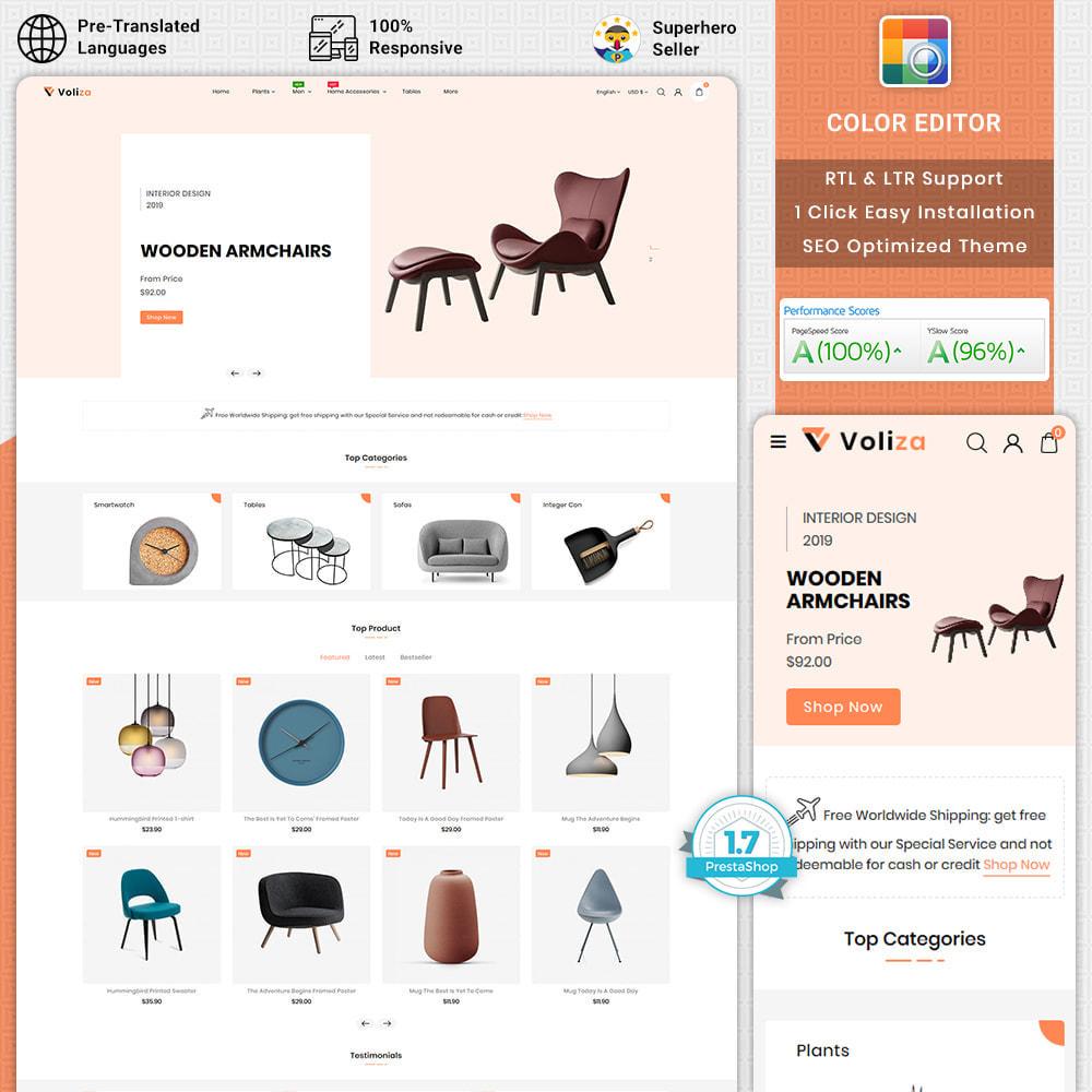 theme - Casa & Jardins - Voliza - The Best Furniture Store - 1