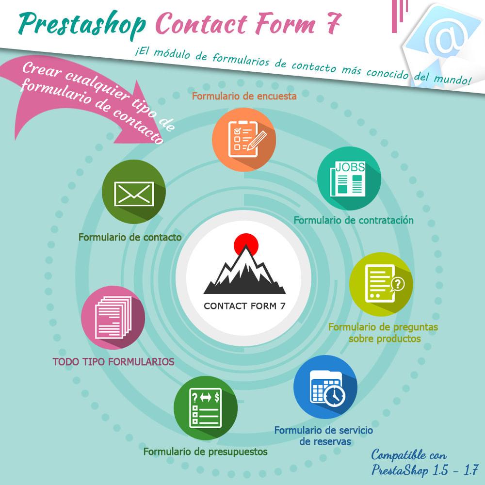 module - Formulario de contacto y Sondeos - Contact Form 7 – Generador de formularios de contacto - 1