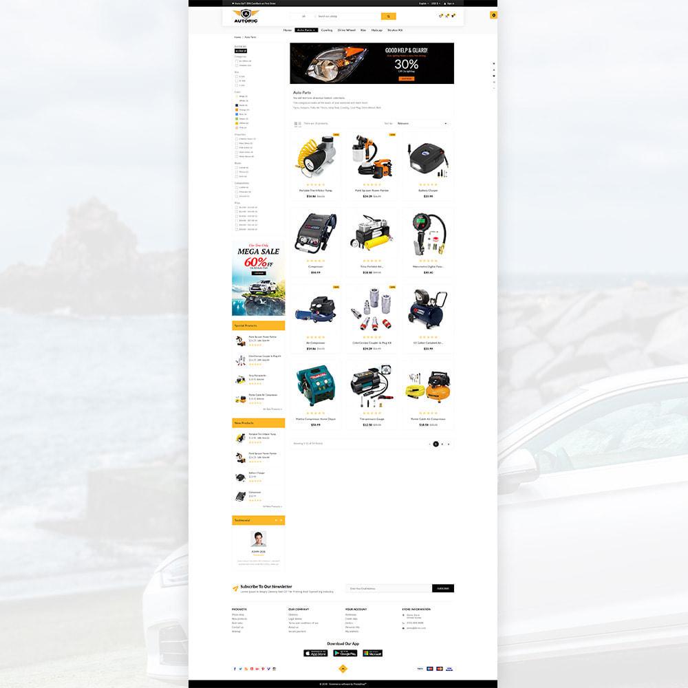 theme - Carros & Motos - Autoric – Autopart and Tools Super Store - 3