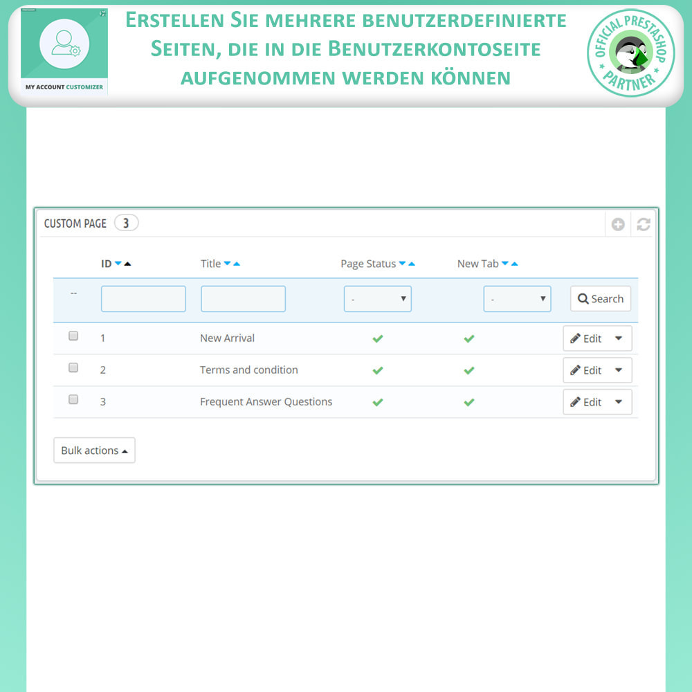 module - Administrationstools - Meine Konto-Anpassung - 9