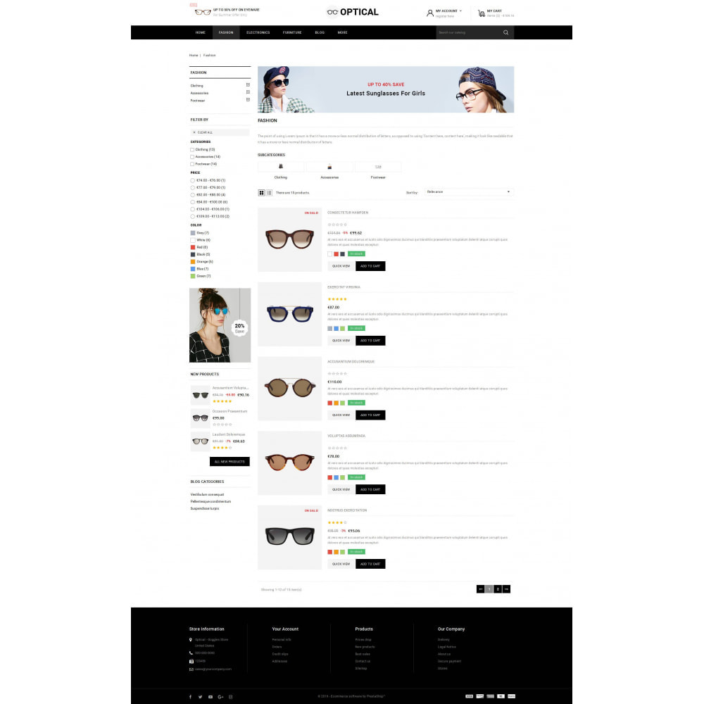 theme - Joalheria & Acessórios - Optical - Goggles Store - 4
