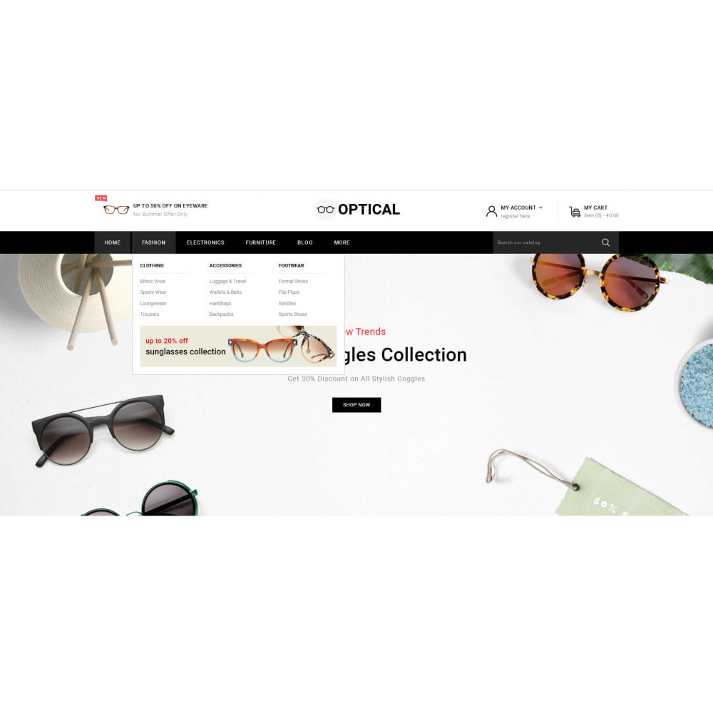 theme - Jewelry & Accessories - Optical - Goggles Store - 6
