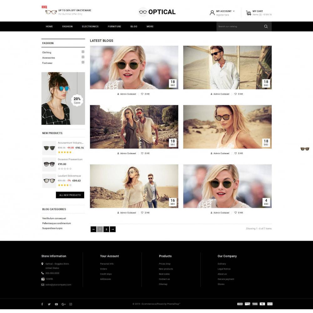 theme - Bijoux & Accessoires - Optical - Goggles Store - 9