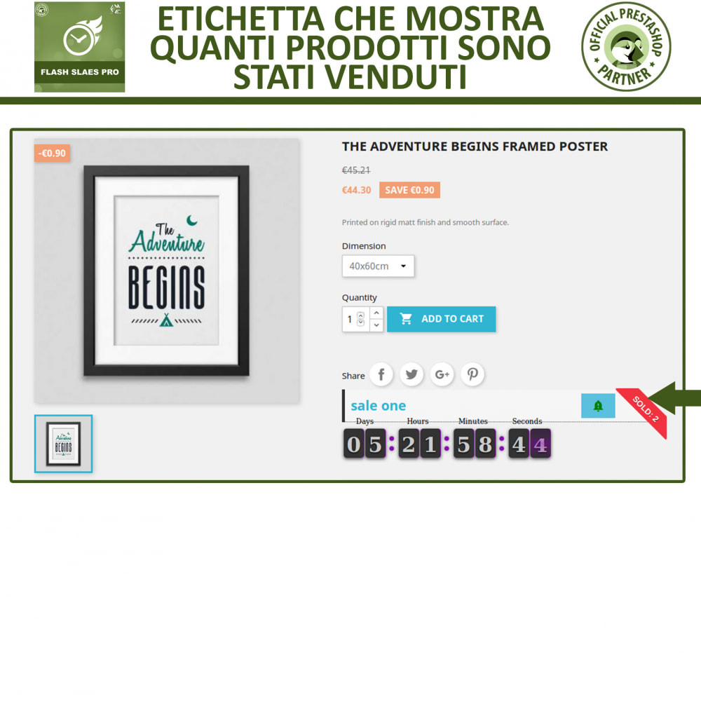module - Flash & Private Sales - Vendite Flash con Timer di Conto alla Rovescia - 5