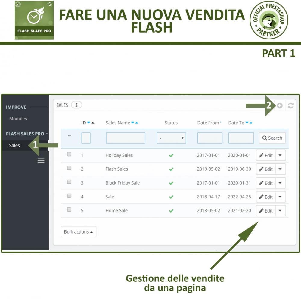 module - Flash & Private Sales - Vendite Flash con Timer di Conto alla Rovescia - 8