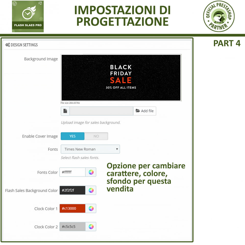 module - Flash & Private Sales - Vendite Flash con Timer di Conto alla Rovescia - 13