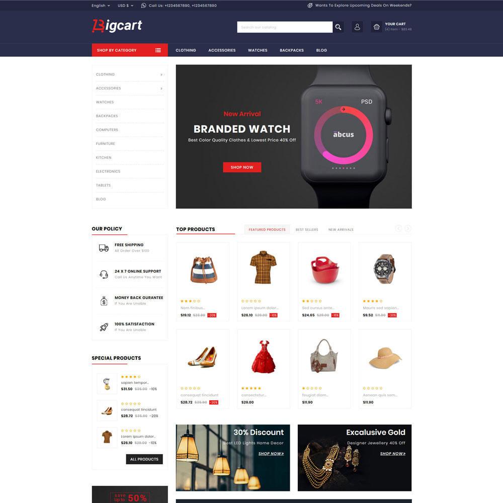 theme - Moda y Calzado - Bigcart Fashion Store - 2