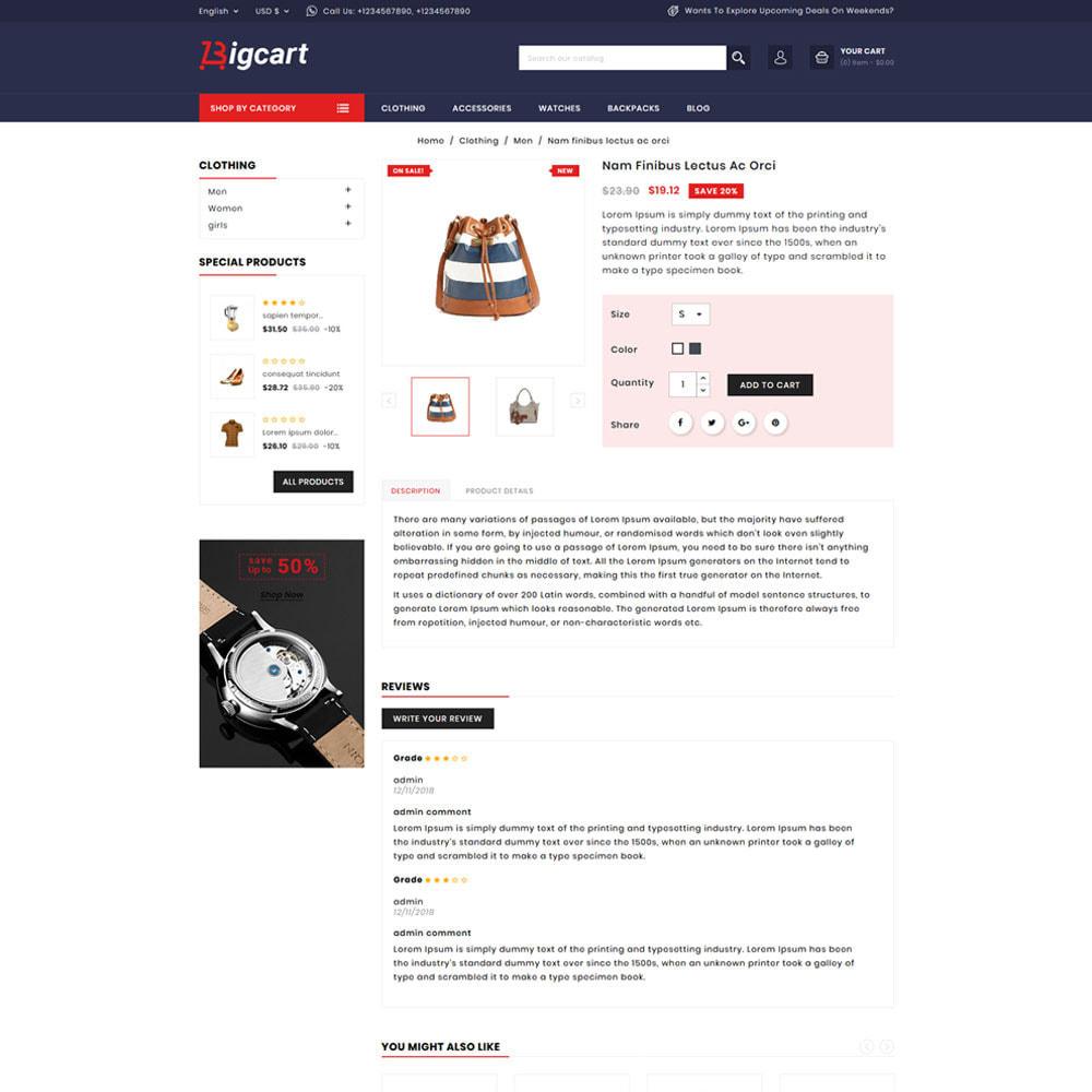 theme - Moda y Calzado - Bigcart Fashion Store - 4