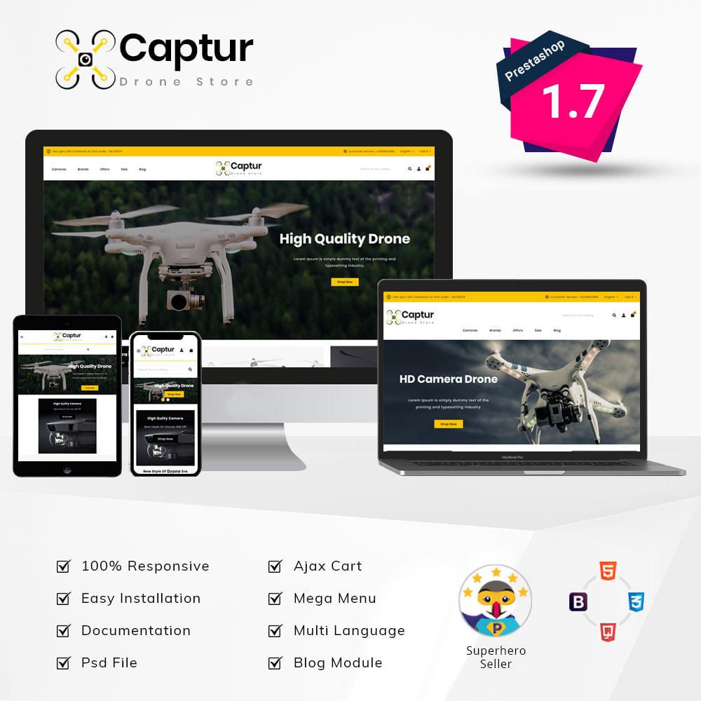 theme - Elektronica & High Tech - Captur Drone Shop - 1