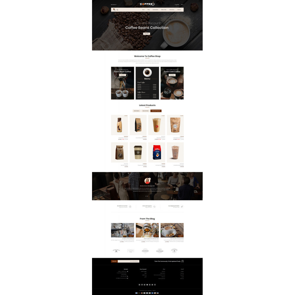 theme - Lebensmittel & Restaurants - Fresh Coffee Shop - 10