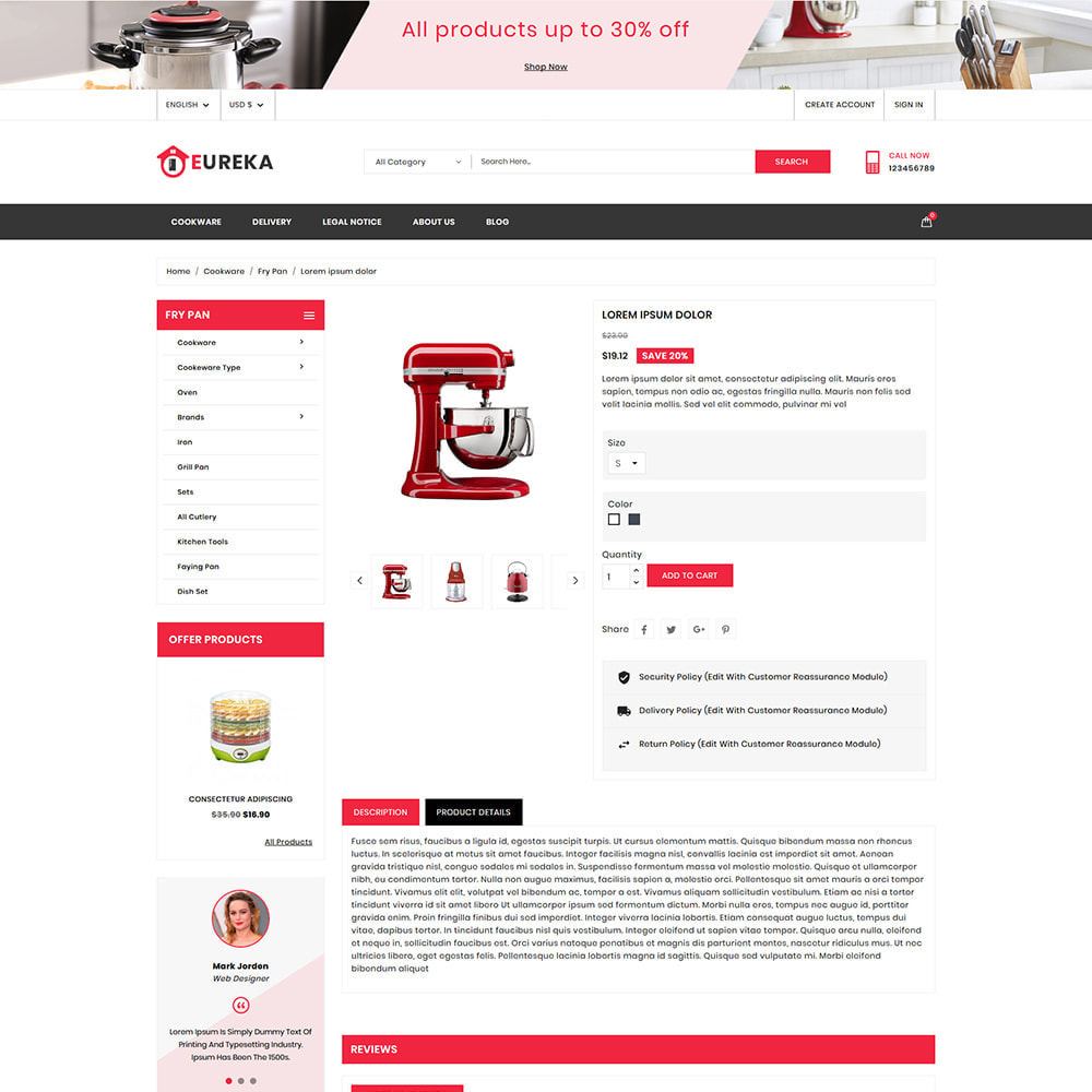 theme - Eletrônicos & High Tech - Eureka Home Appliances Shop - 5