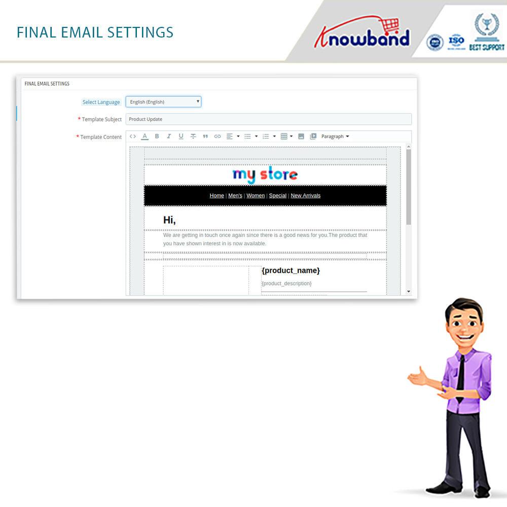 module - E-Mails & Benachrichtigungen - Knowband- Wieder-auf-Lager-Benachrichtigungen - 11