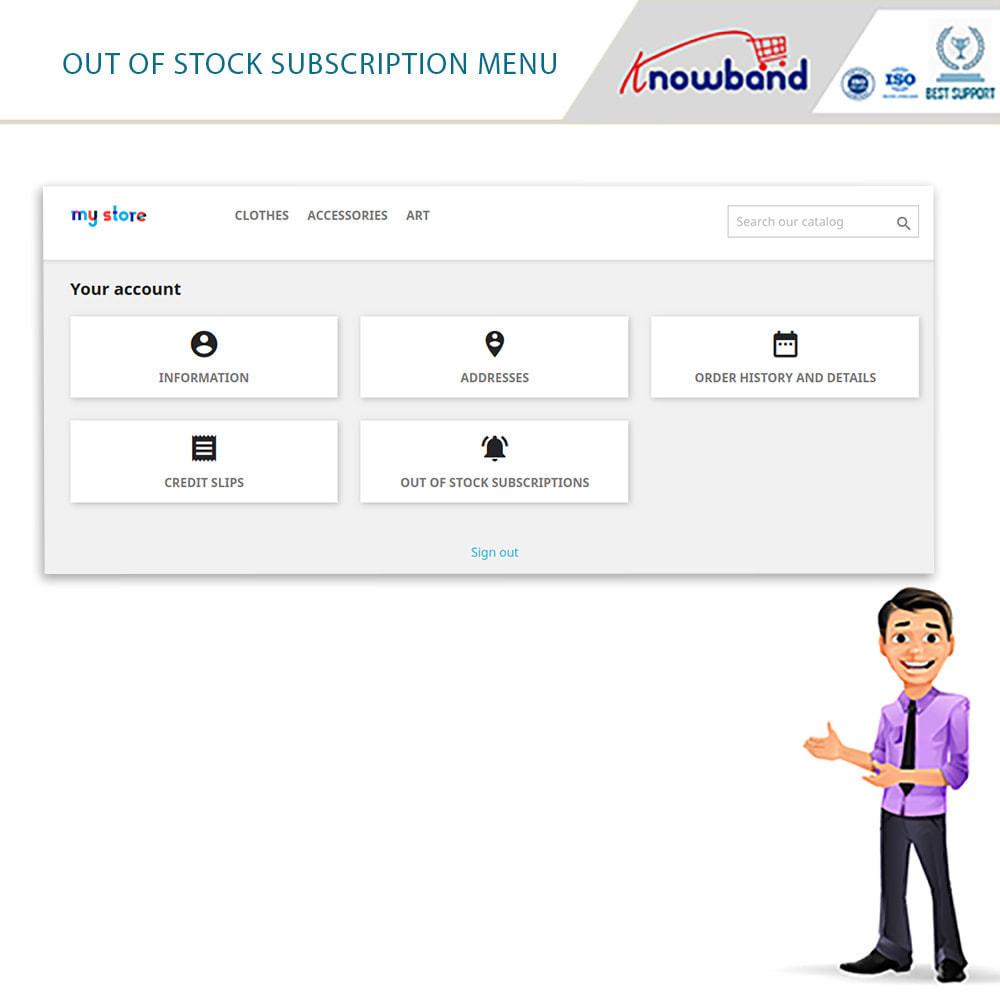 module - E-Mails & Benachrichtigungen - Knowband- Wieder-auf-Lager-Benachrichtigungen - 7