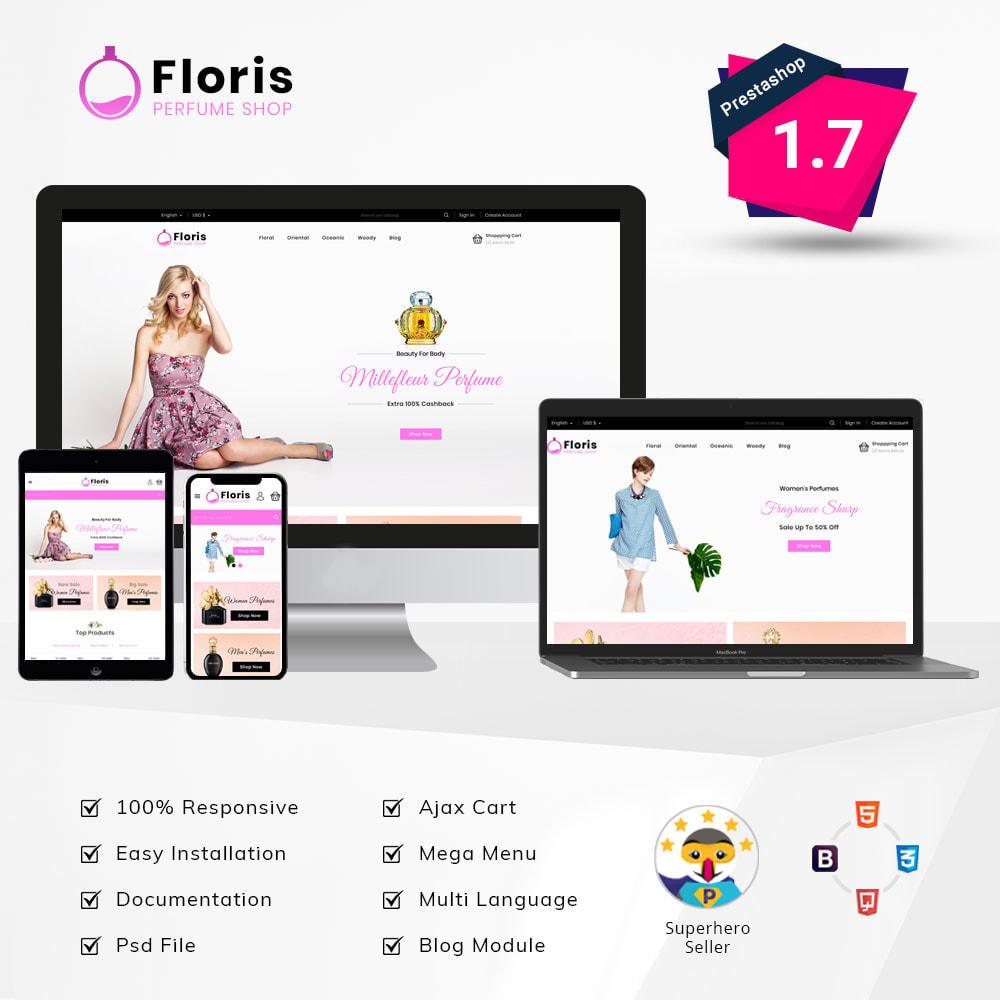 theme - Prezenty, Kwiaty & Uroczystości - Floris - Perfume Shop - 1