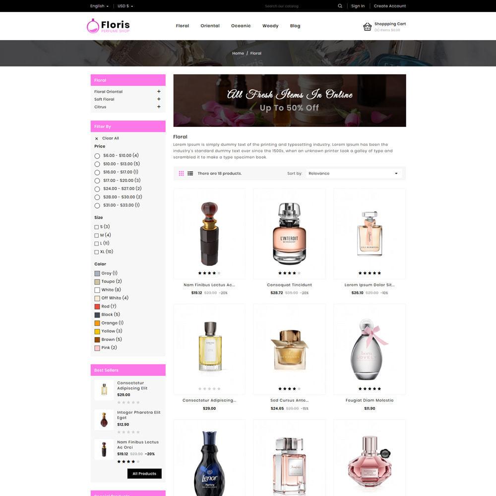 theme - Prezenty, Kwiaty & Uroczystości - Floris - Perfume Shop - 2