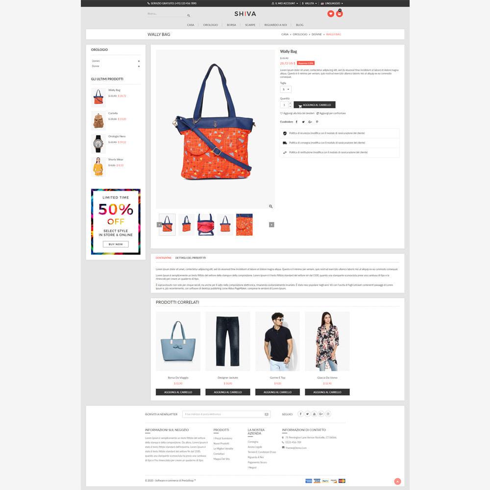 theme - Moda & Calzature - Negozio di moda Shiva - 5
